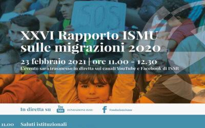 Presentazione Rapporto ISMU sulle migrazioni 2020