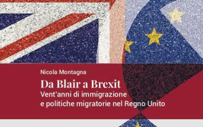 Presentazione del volume Da Blair a BrexitVent'anni di immigrazione e politiche migratorie nel Regno Unito di Nicola Montagna